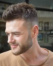 clic short men s haircut beard style