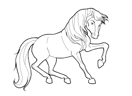 wild horse coloring pages to fun spirit horse coloring pages