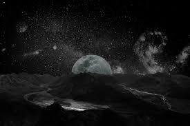 图片素材 黑与白 天空 晚 银河 宇宙 大气层 神秘 空间 火山口