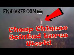 Underwater Footage - Cheap Chinese Jointed <b>Fishing Lures</b> ...