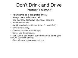 dont drink drive  3 don t drink and drive