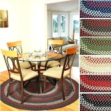 10 ft round rug ft by area rug mission hill round indoor outdoor braided made in