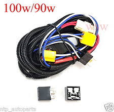 universal h4 headlight booster wire hid xenon halogen harness h4 halogen head lamp front light 100w 90w universal wiring harness relay kit h 4