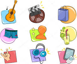 Interests Amp Hobbies Hobbies And Interests Icon Design Elements Stock Photo Lenmdp