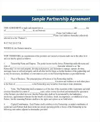 Business Agreement Contract Template Construction Contract