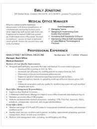 Medical Assistant Job Description Resume Receptionist