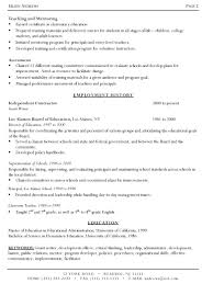 Writer Resume Template Enchanting Writer Resume Template Example Resume For A Writer Idealstalist