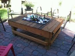 diy outdoor table with cooler. Unique Outdoor DIY Table Idea (10) Diy With Cooler U