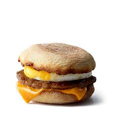 Mcdonalds Breakfast Menu Calories Chart Sausage Mcmuffin With Egg Breakfast Sandwich Mcdonalds