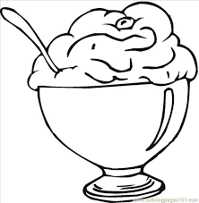 Small Picture 16129587 Coloring Page Free Desserts Coloring Pages