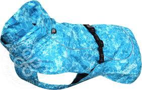 Купить <b>Дождевик для собак Rukka</b> Drizzle голубой 55см с ...