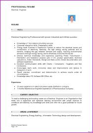Engineer Resume Format Electrical Engineer Resume Word Format Unique Electrician Resume 12