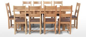 dining table with 10 chairs. Constance Oak 180-230 Cm Extending Dining Table And 10 Chairs With M