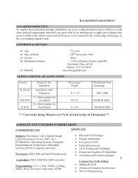 RESUME. R.LAKSHMI NARASIMHAN 1.0 CAREER OBJECTIVE To employ the technical  knowledge imbibed by me in ...
