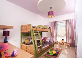 bedrooms for girls with bunk beds.  Bunk View In Gallery Lovely Girlsu0027 Bedroom With A Colorful Bunk Bed With Bedrooms For Girls Bunk Beds K