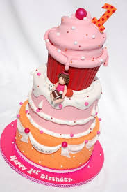 Giant Cupcake Cake From Royal Bakery Via Cakecentral Fancycakes