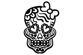 Svg, png, eps, dxf, ai. Sugar Skull Svg Cut File By Creative Fabrica Crafts Creative Fabrica