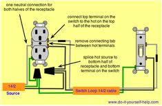 70 best electric house project images electric house bricolage wiring switch from a electrical outlet electrical engineering home electrical