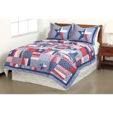 Mainstays Quilt Collection Stars and Stripes Walmart