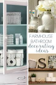 bathroom decorating ideas. Looking For DIY Farmhouse Bathroom Decorating Ideas? Check Out This List Of Projects, Including Ideas