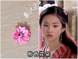 Tianlong eight Liu Yifei Wang Yuxuan the same headdress hair brass earrings  fairy long chain hairband
