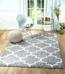 chevron rug 8x10 white