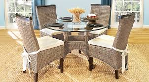 dining room sets with rattan chairs. abaco rattan 5 pc round dining room sets with chairs e