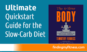 the ultimate quickstart guide for the slow carb t finding my fitness