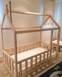 Montessori House Bed (montessori Bed, House Bed Frame, Toddler Bed, Twin Bed
