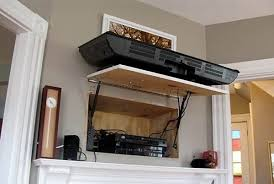 21 insanely clever ways to hide eyesores in your home hinged tv wall mount