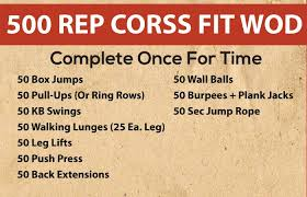 20 effective crossfit workouts 8 pinit