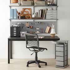 Home office shelf Storage Platinum Elfa Home Office Shelving Designtrends Platinum Elfa Home Office Shelving The Container Store