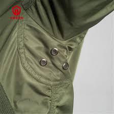 Flight Jacket High Strength Nylon Polyester <b>Fiber Wearable</b> Simple ...
