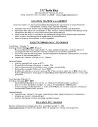 simple inventory control manager resume medium size simple inventory  control manager resume large size - Production