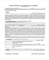 Car Purchase Sale Agreement Form Standard Ohio Agreements – Stiropor ...