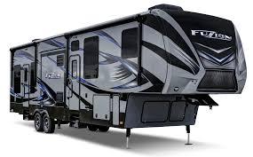 keystone rv fuzion toy hauler fifth wheels