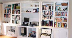 home office shelving solutions. Bespoke Fitted Home Office Furniture Shelving Solutions
