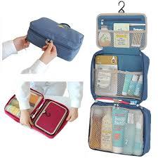 Best Bath Decor bathroom kit : Mini Portable Foldable Travel Bag Fashion Women Toiletries ...