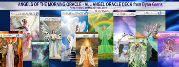angels of the morning oracle deck banner the integration cards by dyan garris