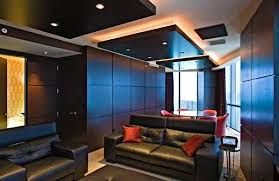 Small Picture 5 gypsum false ceiling designs with LED ceiling lights for living