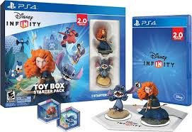 infinity 4 0. disney infinity: toy box starter pack (2.0 edition) - playstation 4 infinity 0 d