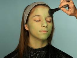 deepen green color and add blush