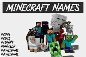4100 cool minecraft names 2021 not