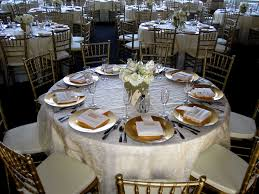 decorating round tables for wedding reception wedding reception decoration