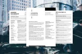 Modern Resume Template Windows 5 Modern Cv Templates Of 2019 Stand Out Shop