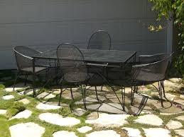 modern iron patio furniture. Vintage Modern Outdoor Furniture Iron Patio U