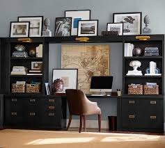 buy home office furniture give. Black Built-in Shelving And Brass Hardware Gives This Home Office Suite Maximum Organization Buy Furniture Give R