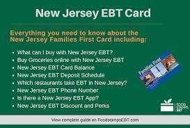 new jersey ebt card 2021 guide food