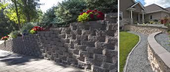 freestanding garden retaining walls