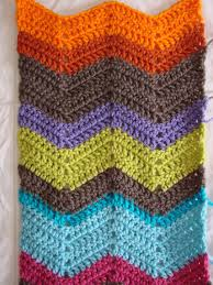 Sharp Chevron Crochet Pattern Simple Decorating Design
